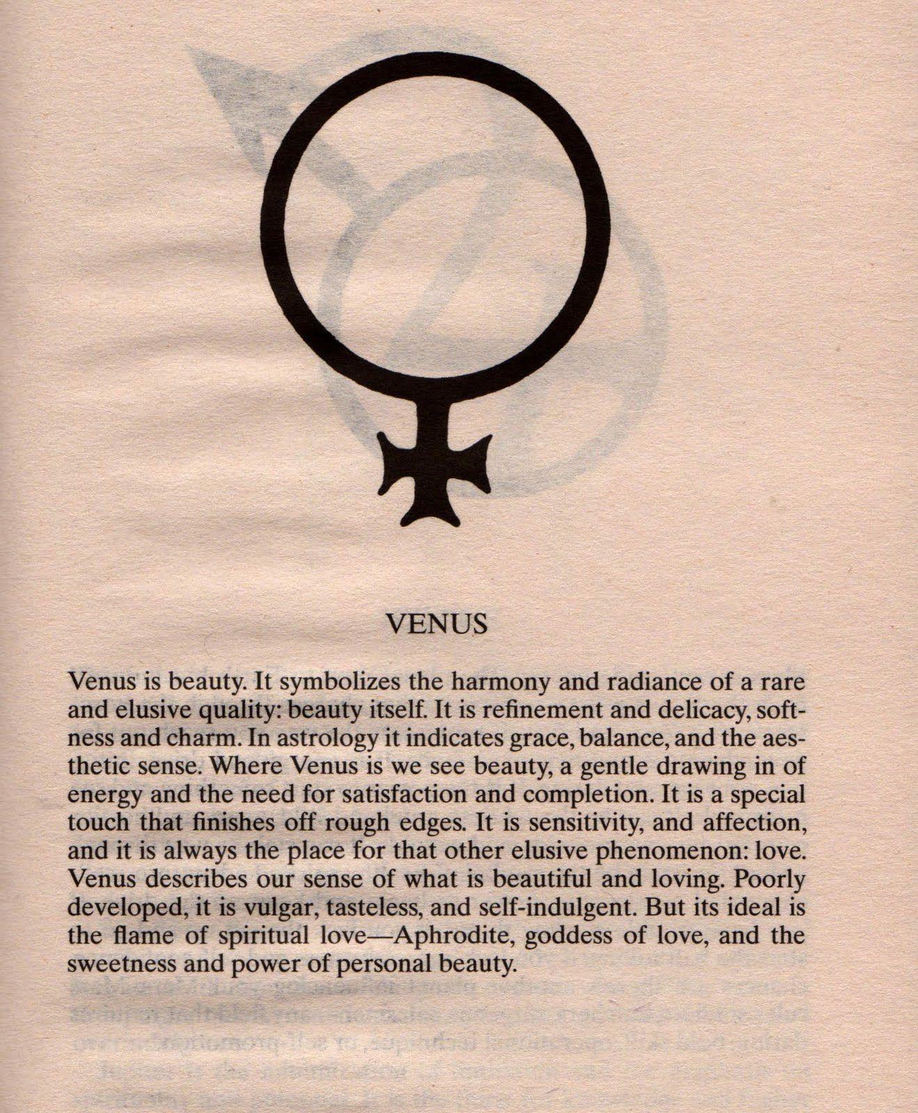 Venus Planet Astrology