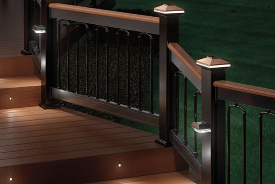 17 Best images about Deck Lighting on Pinterest   Cap du0027agde, Solar and  Stairs