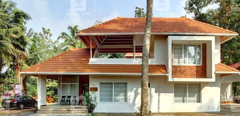 Village Home Architect Own Home Traditional Home Planhome Plans Kerala House Plans Kerala Home Style Manorama Online Architect House House Styles Kerala Houses