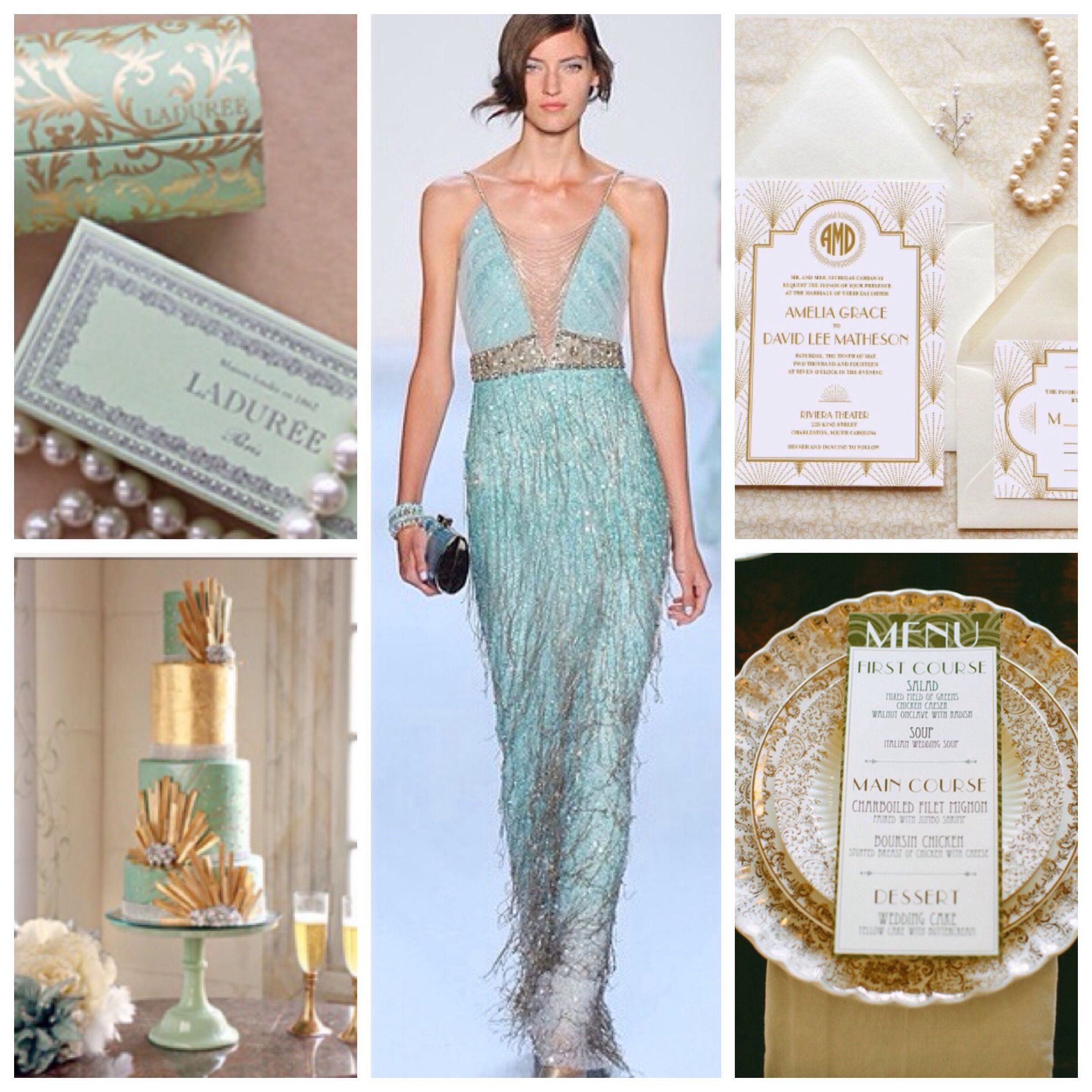 23 Stunningly Beautiful Decor Ideas For The Most: Roaring 20's Wedding Inspiration