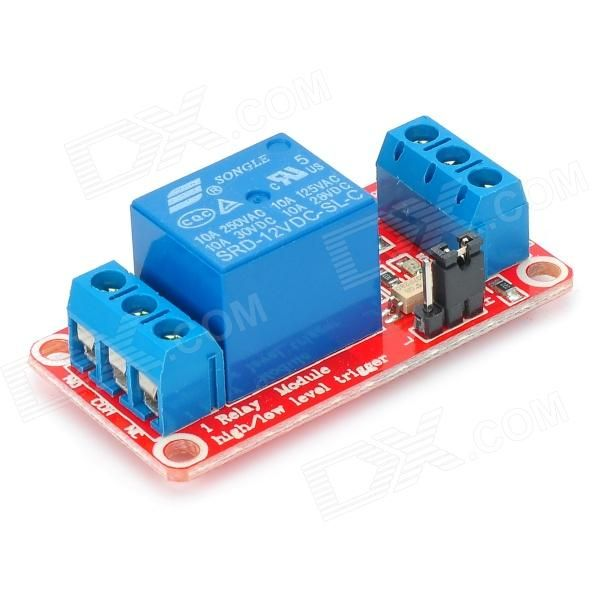 Highest Quality And Cheap One Channel 12v Relay Module W X2f Opto Couplersisolation Deep Blue On Sale Cool Gadgets Relay Cheap Computers