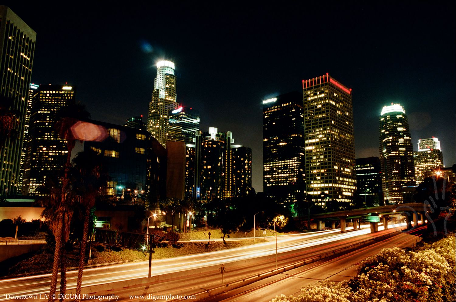 Downtown L A Matted And Signed Photograph Or Poster Etsy Downtown La Kodak Film Photographer
