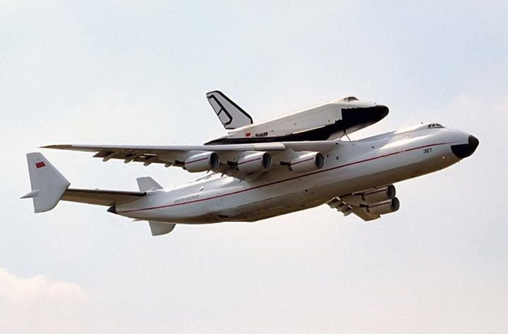 The Antonov An-225 Mriya is a strategic airlift cargo aircraft that was designed by the Soviet Union's Antonov... http://t.co/3A14bWu1cm
