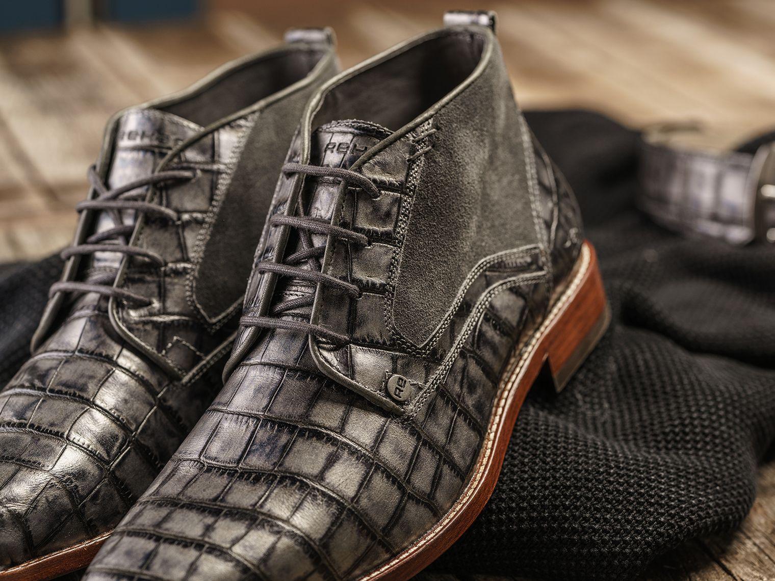 REHAB Lennox Croco Dust #rehabfootwear #classiccollection #lennox #crocoprint #suede #statement #uniquelook #trendy