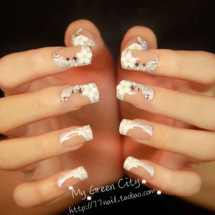 Uñas elegantes | uñas | Pinterest | Uñas elegantes, Elegante y ...