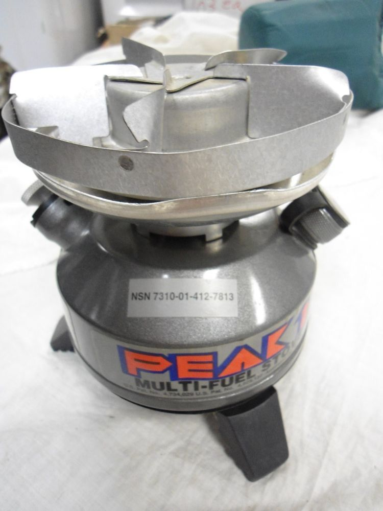 Up For Sale Are Coleman Peak 1 Model 550 B Multi Fuel Stove