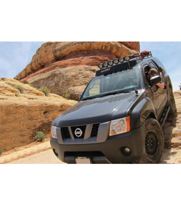 Nissan Xterra 05 15 Ranger Rack Multi Light Setup Font Color Dodgerblue With Sunroof Nissan Xterra Nissan Ranger
