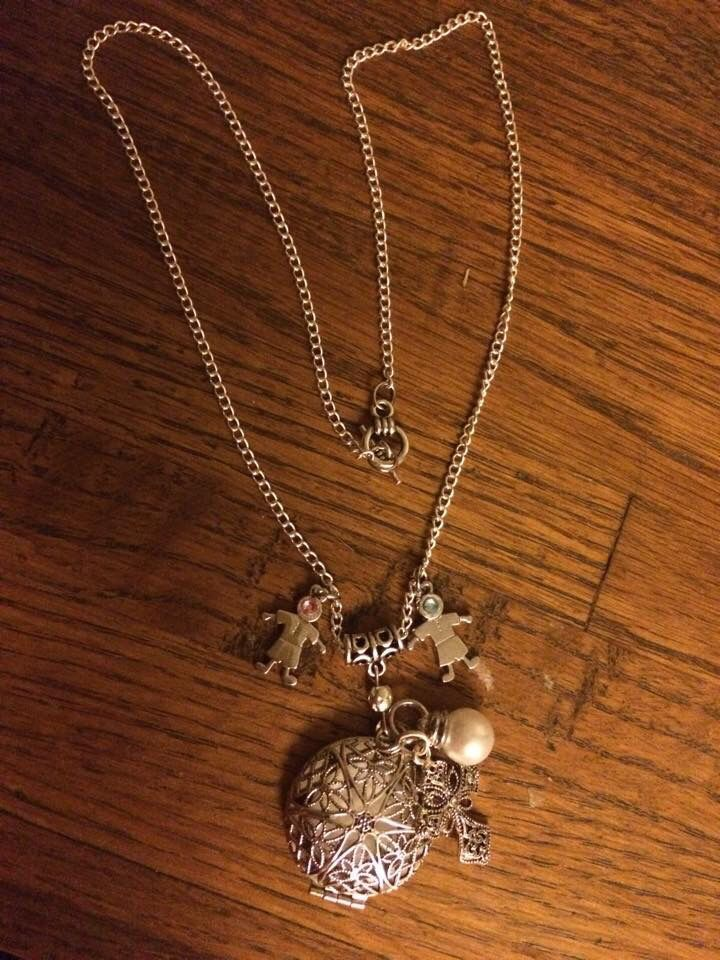 Children Charms Diffuser Necklace
