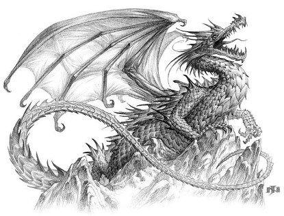 Resultado de imagen para dragón chino dibujo a colores | Drawings ...