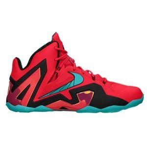 new style 6ccd5 e9010 Nike LeBron XI Elite - Men s - Laser Crimson Black Turbo Green