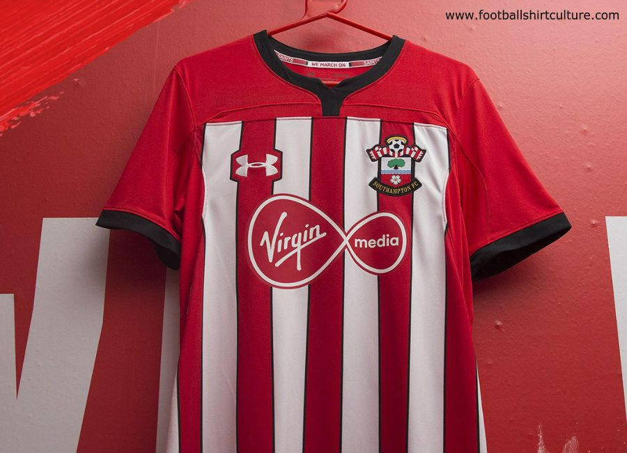 exhaustivo no pueden ver Fugaz  Southampton 2018-19 Under Armour Home Kit | Deportes