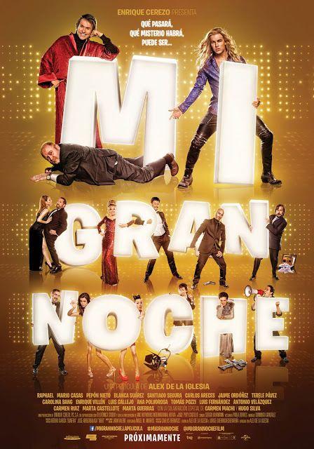 Mi Gran Noche Alex De La Iglesia Cine Peliculas En Español Criticas De Cine