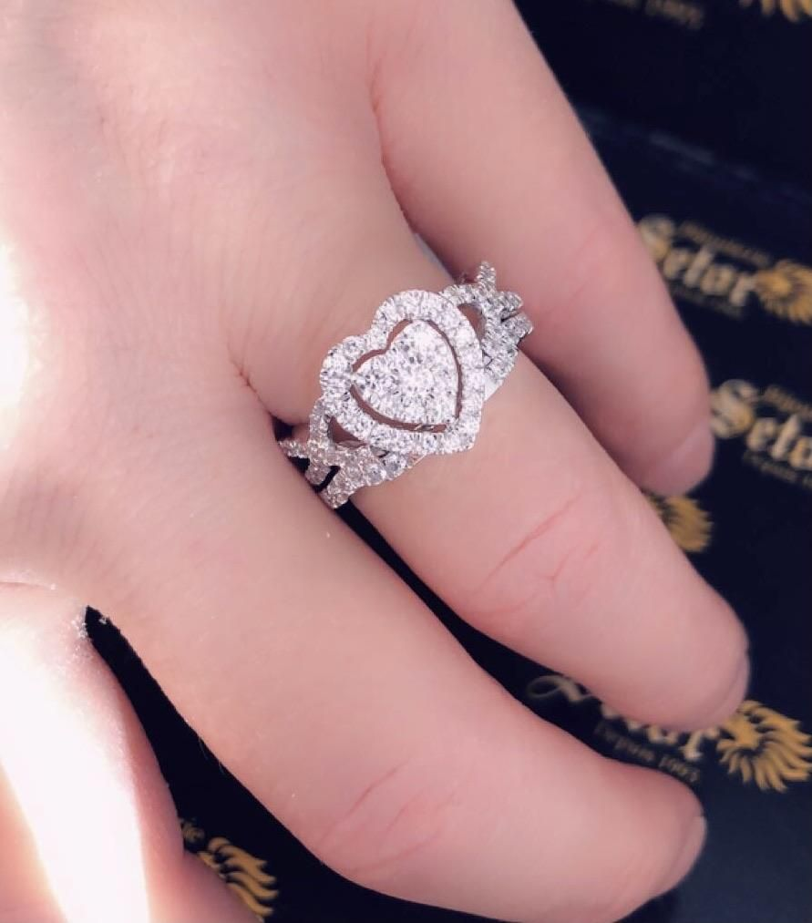 Sophia diamond wedding rings – 7