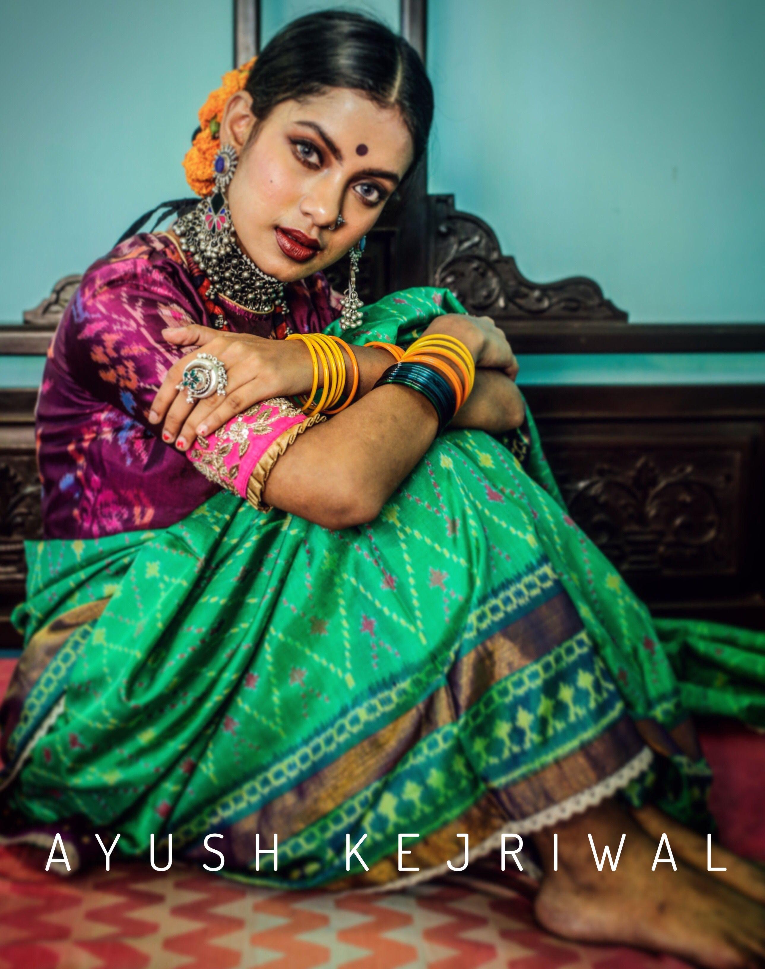 Patola saree by Ayush Kejriwal For purchases email me at