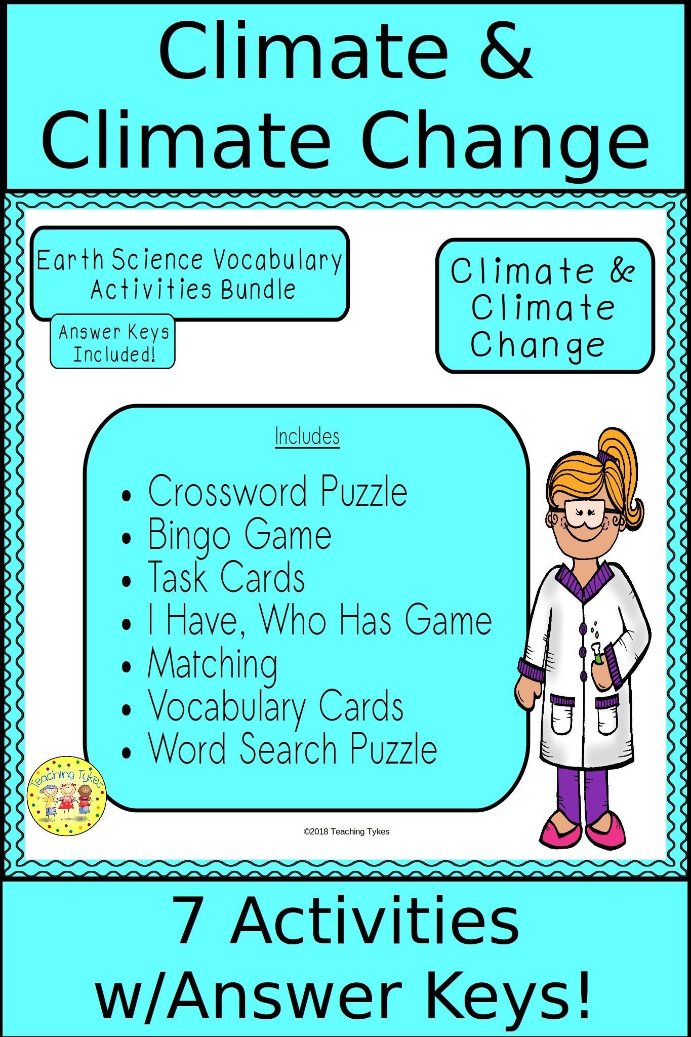 Climate And Climate Change Bundle With Images