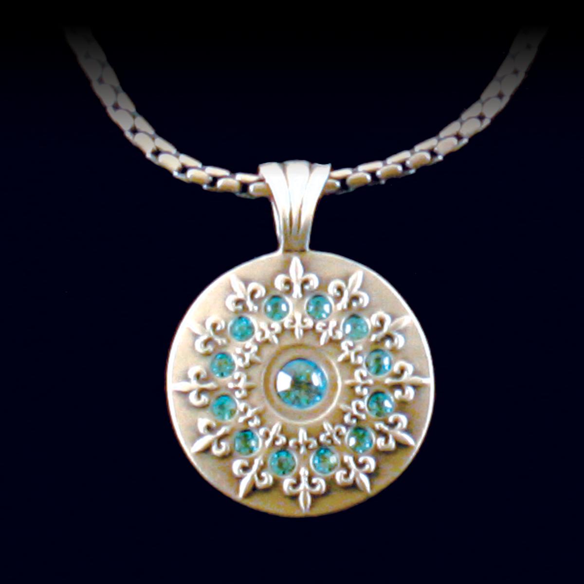 Bico Tribal Jewelry  - French Lily, $49.95 (http://www.bicotribaljewelry.com/products/french-lily.html)