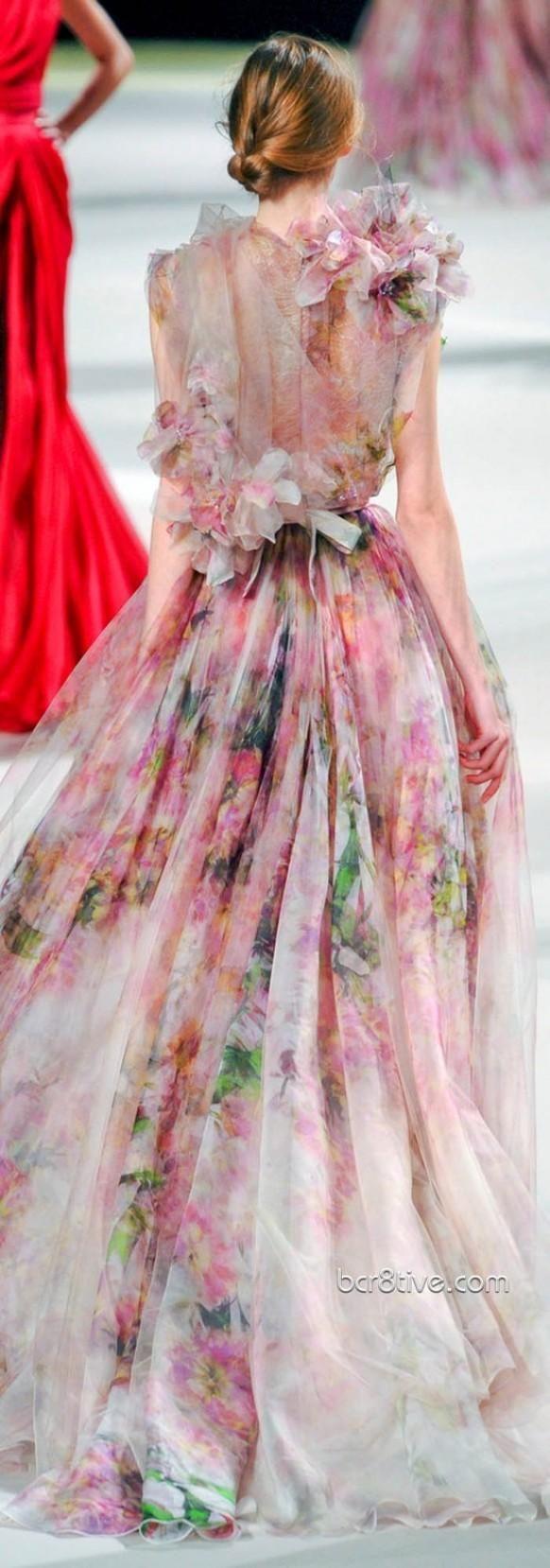 Elie Saab Couture | Transparencies | Pinterest | Vestidos alta ...