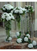 composizione fiori bianchi