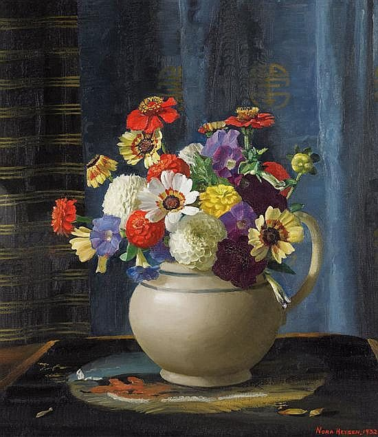 Nora Heysen Flowers in a jug 1932