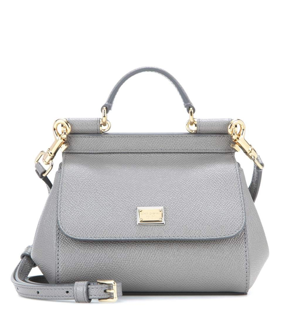666fd0b947 DOLCE & GABBANA Miss Sicily Micro Leather Shoulder Bag. #dolcegabbana #bags  #shoulder bags #leather #denim #lining #
