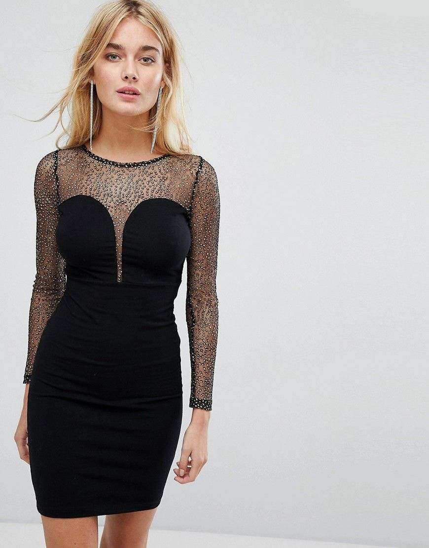 Get This Motel S Tube Dress Now Click For More Details Worldwide Shipping Motel Bod Long Sleeve Sparkly Dress Sheer Bodycon Dress Long Sleeve Cocktail Dress [ 1110 x 870 Pixel ]