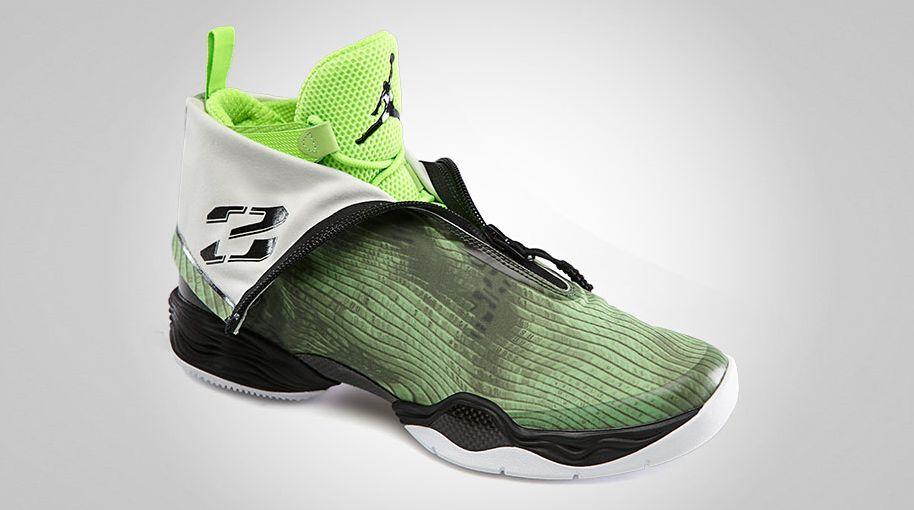 best sneakers 3d4b4 e8bdc Air Jordan XX8 Green Camo Electric Green White 555109-301 (2)