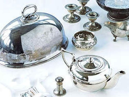 how to clean silver easily