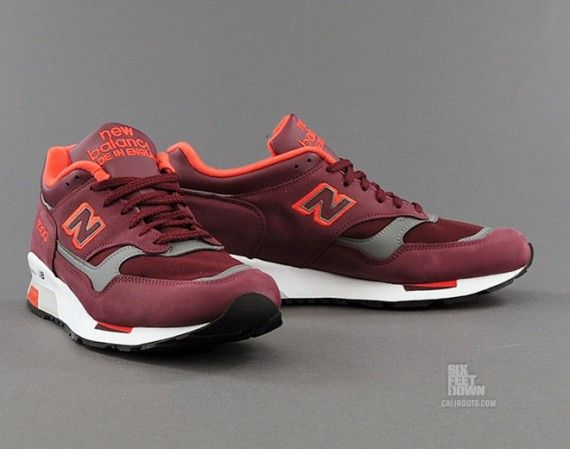 I dig the color combination. New Balance 1500 Maroon