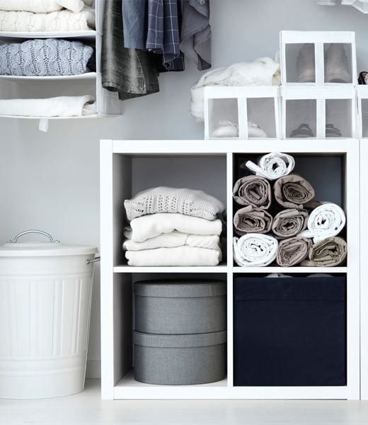 Kallax Open Kast Hoogglans Wit Casa To Be Ikea Shelving