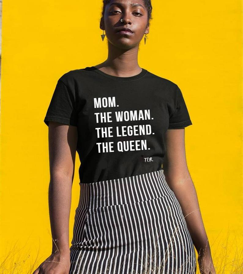 Mother's Day Mom The Legend   Etsy in 2020   African ...