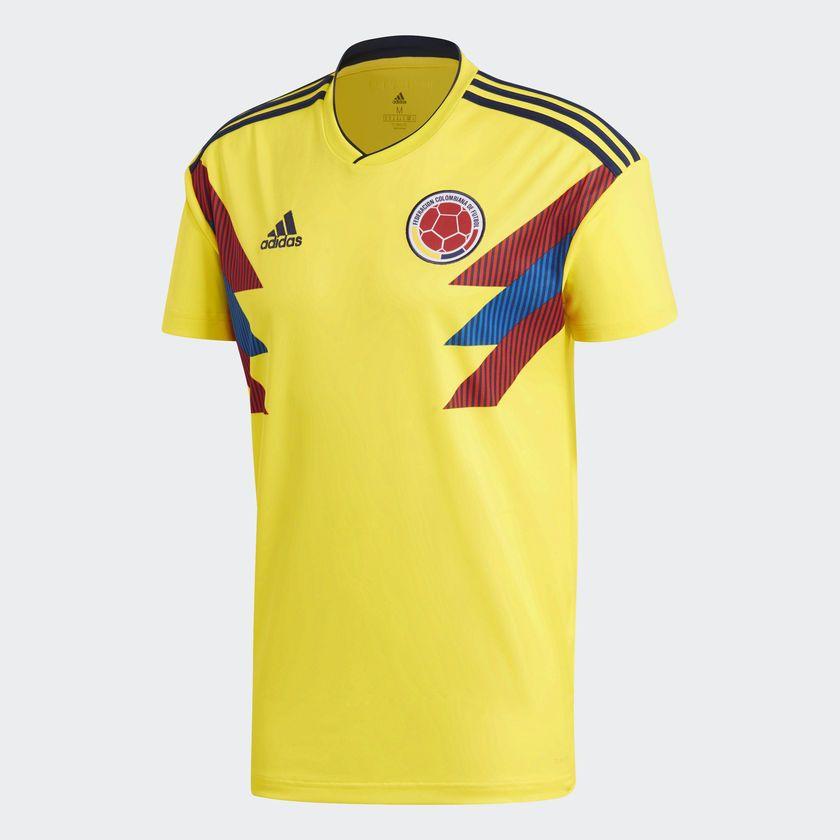 Adidas Camiseta Selección Colombia Local Amarillo Adidas Colombia Camiseta Seleccion Camisetas De Equipo Camisetas