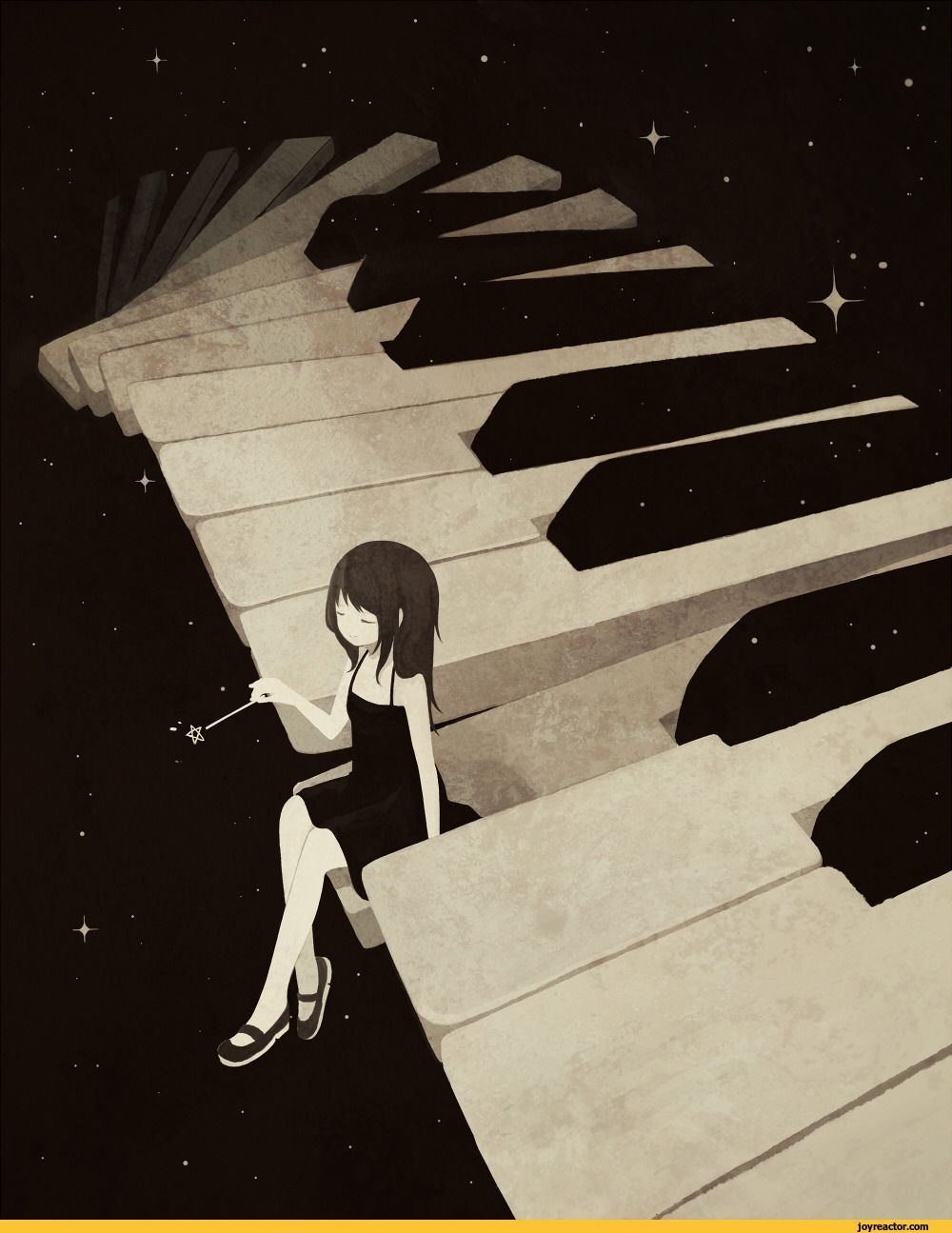 anime-art-girl-piano-10.jpeg (10×10)  Piano art, Anime