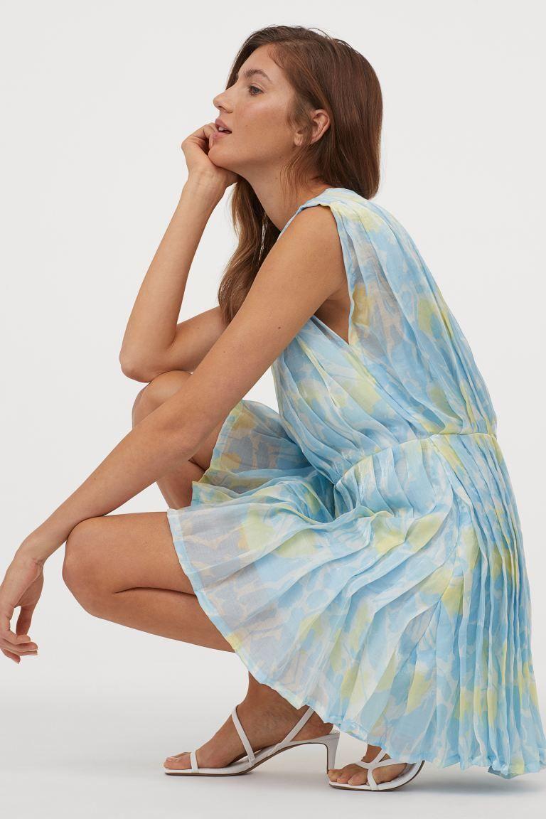 Kleid aus Lyocellmischung in 2020 | Kleider, Lady, Hellblau