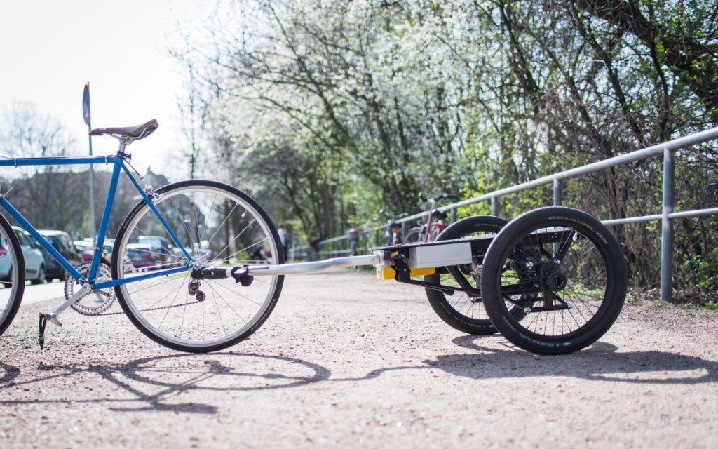 Nuwiel Der Selbstfahrende Fahrradanhanger Soll Unsere Stadt