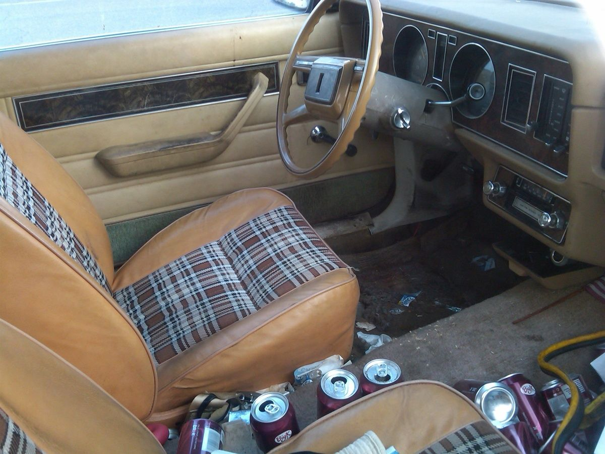 plaid interiors a well worn 1980 ford fairmont futura cars pinterest ford and cars. Black Bedroom Furniture Sets. Home Design Ideas
