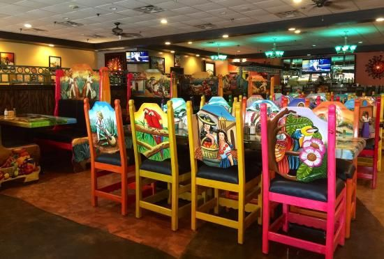 Painted Chairs - Trip Advisor (Mr. Tequila Cantina - Sarasota)