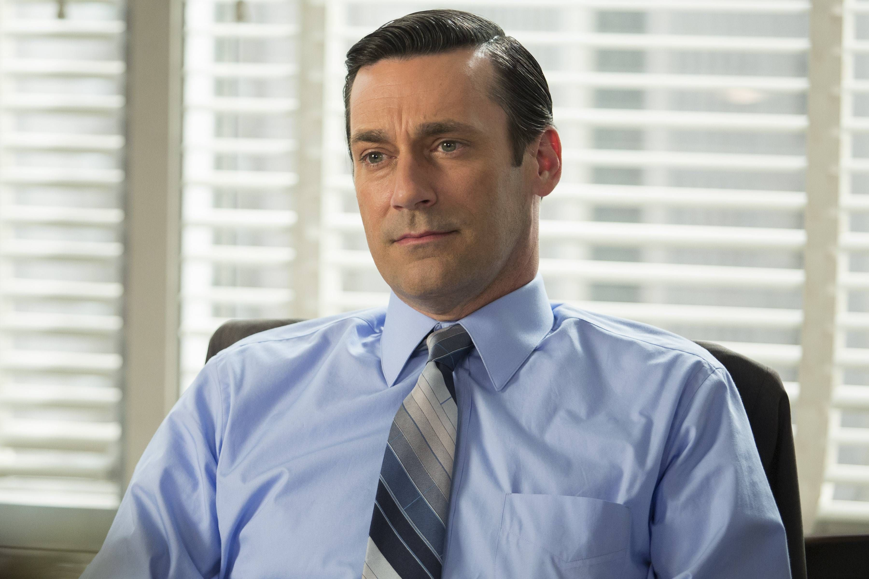 """Don Draper (Jon Hamm) ended the final season of """"Mad Men"""" with a moment of enlightenment."""