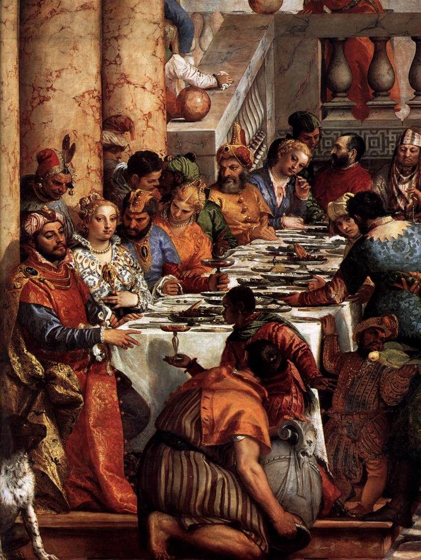 Les Noces De Cana Veronese : noces, veronese, Noces, Détail, (1563), Véronèse, (Musée, Louvre,, Paris), Resim, Sanatı,, Rönesans,