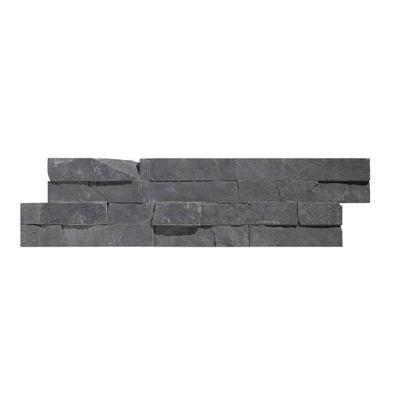 Verblender Brickstone Schiefer Nero 15 cm x 60 cm im OBI Online - badezimmer farbe obi