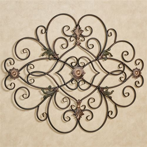 Pendant Metal Wall Grille Tuscan Decorating Iron Wall Art