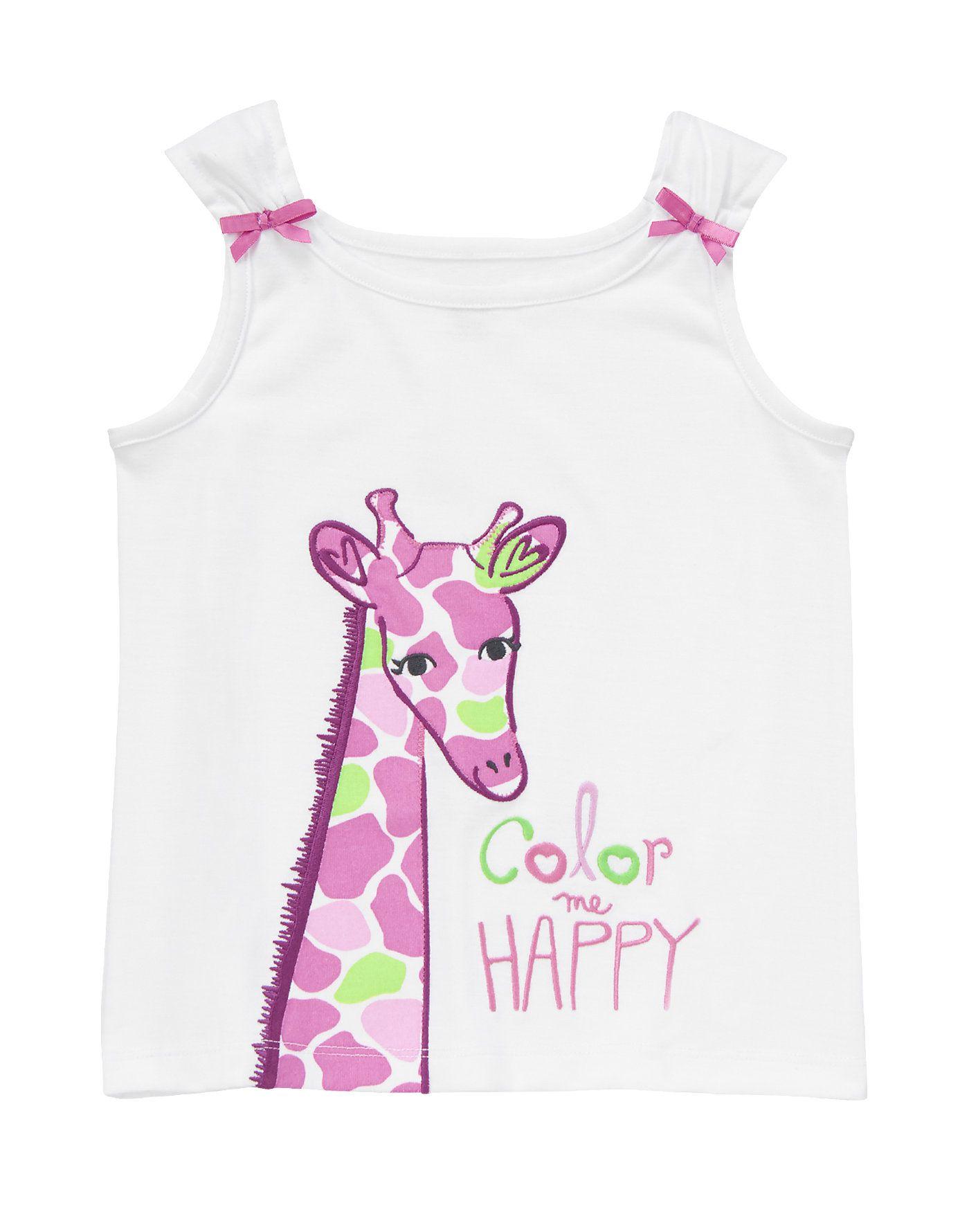 Color Me Happy Sleep Tank at Gymboree SLEEPWEAR
