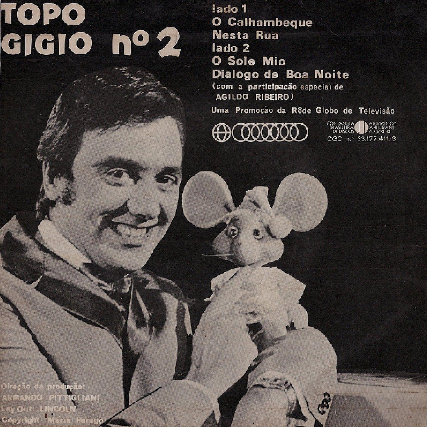 Topo Gigio e Agildo Ribeiro