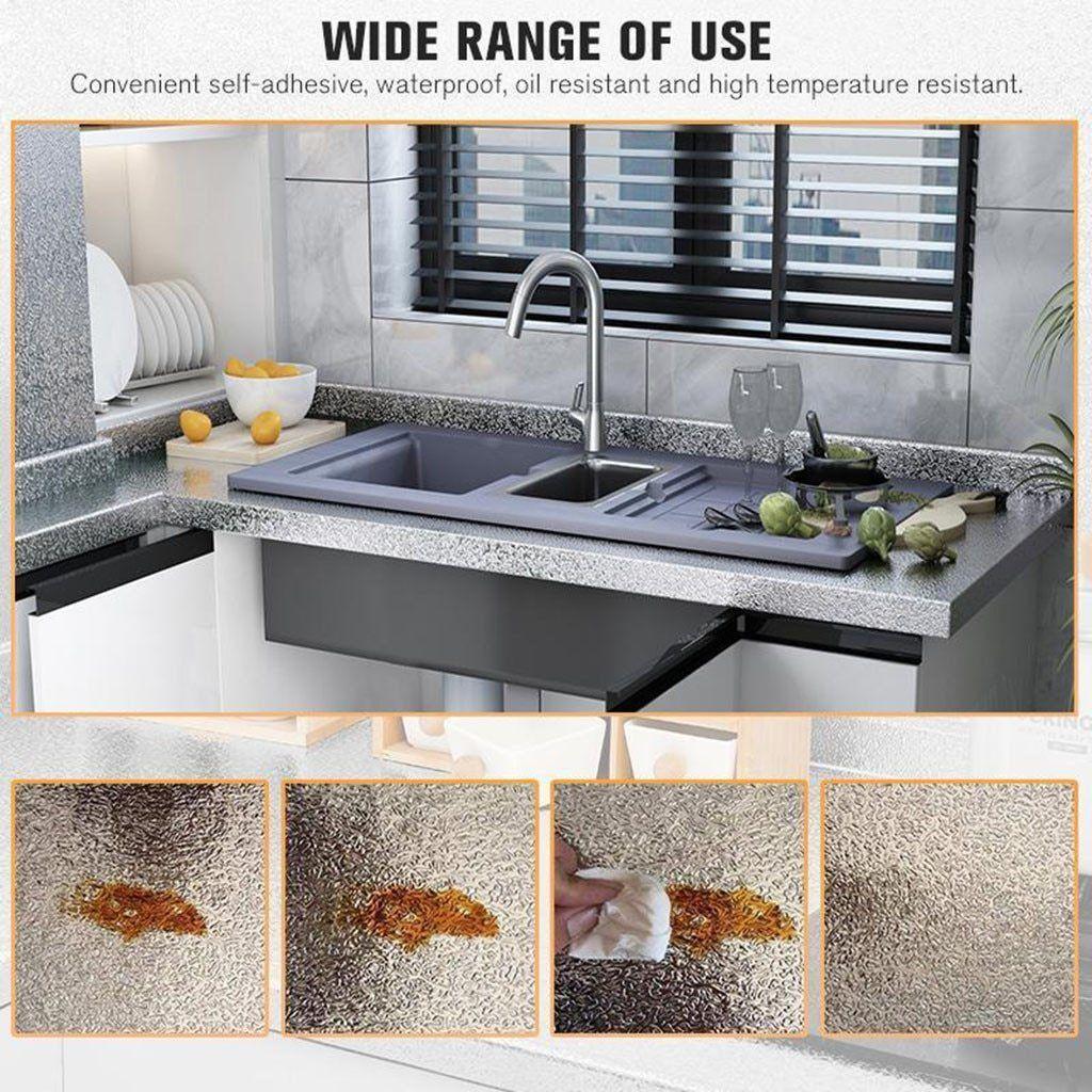 Kitchen Tile Wallpaper In 2020 Kitchen Surfaces Kitchen