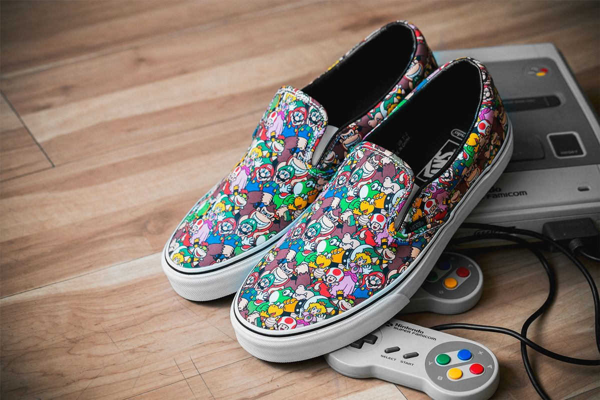 0bba828f12 This Is The Pair I Picked Up From The Nintendo x Vans Collection ... Vans  Sneakers in 8-Bit Nintendo Graphics for Summer 2016 ...