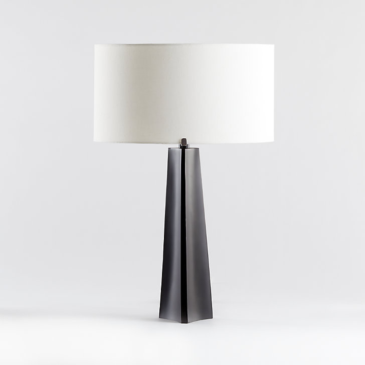Isla Bronze Triangle Table Lamp Reviews Crate And Barrel Table Lamp Lamp Crate And Barrel