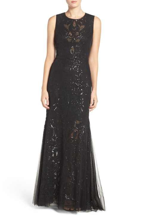 Vera Wang Sequin Lace & Tulle Gown   Dreamy Gowns   Pinterest ...