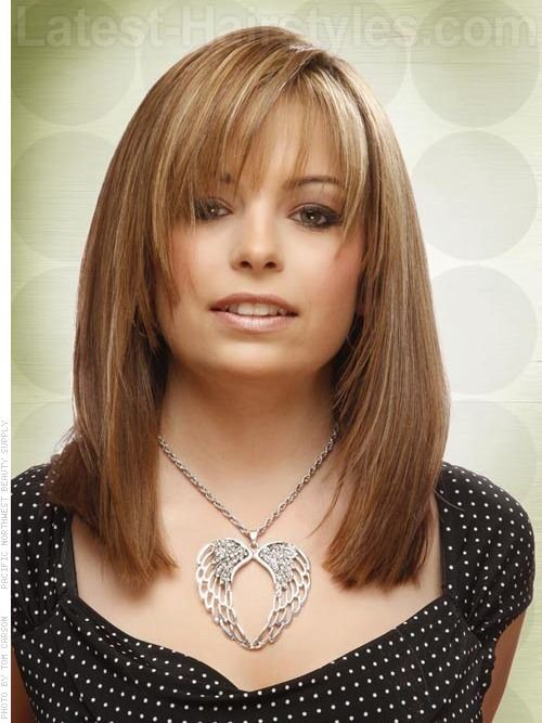 46 Cute Bob Haircuts With Bangs To Copy In 2020 Medium Length Hair Styles Square Face Hairstyles Long Bob Haircut With Bangs