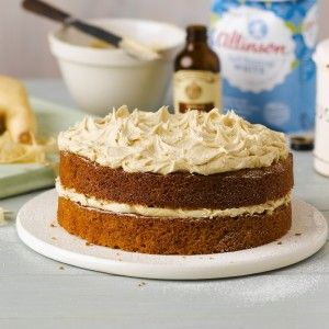 Parsnip Ginger Cake with Ginger Buttercream Recipe Cake