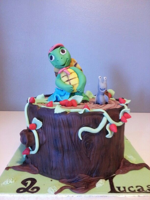 franklin the turtle cake gâteau franklin la tortue | cookbook