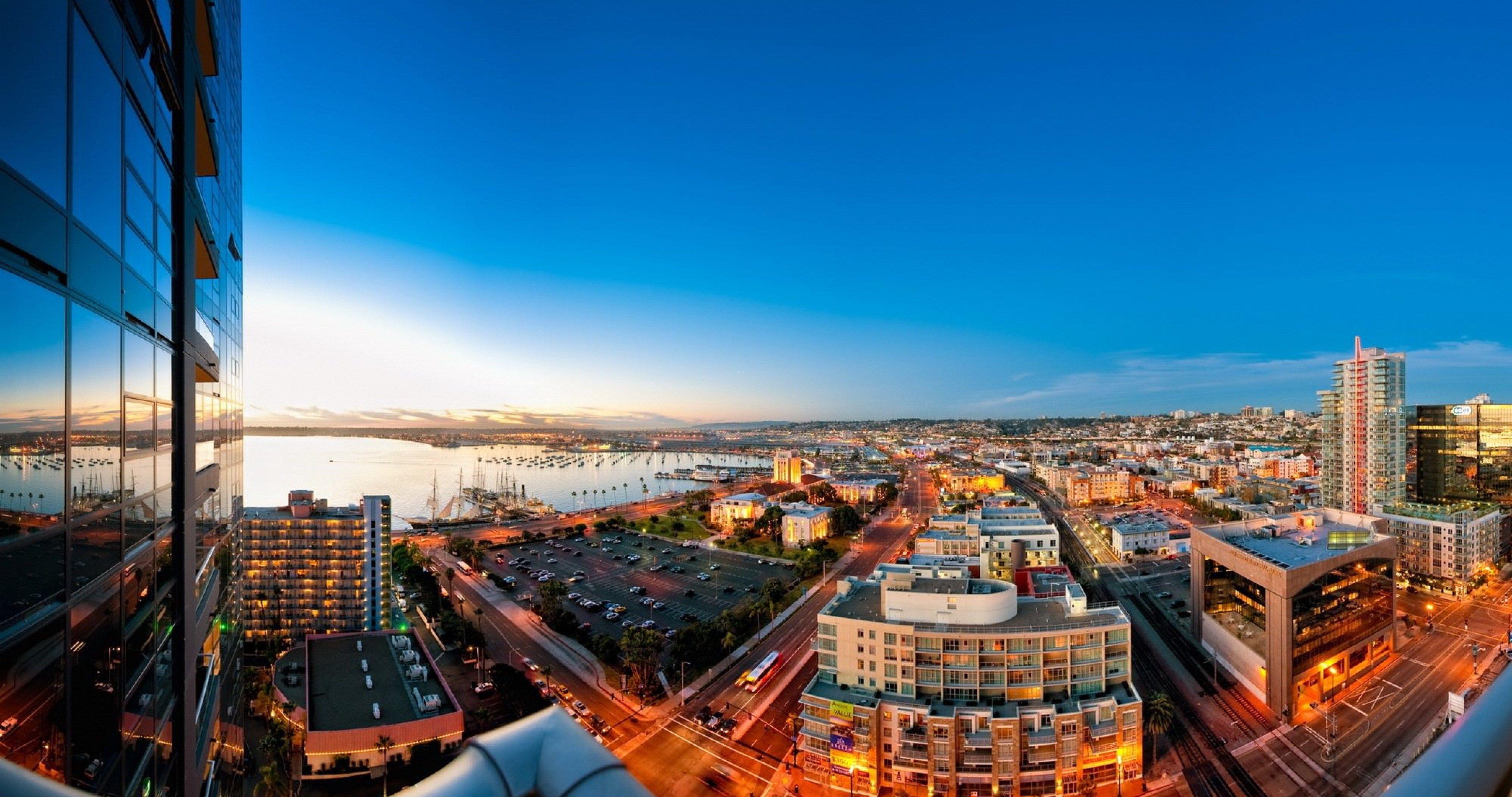 San Diego City 4k Ultra Hd Wallpaper San Diego City Panoramic City